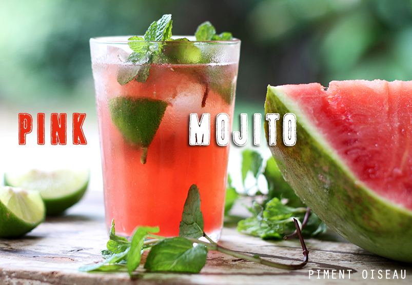 Pink mojito - Watermelon mojito