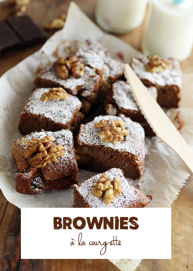 brownies-courgette
