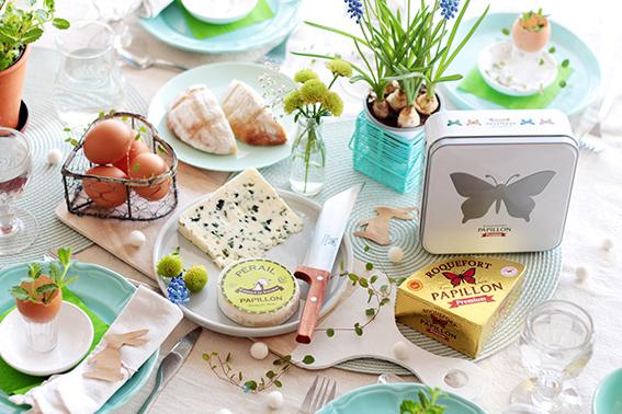 Création pour Roquefort Papillon