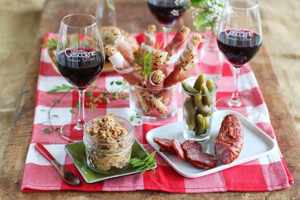 Création pour les Vins des Côtes de Gascogne